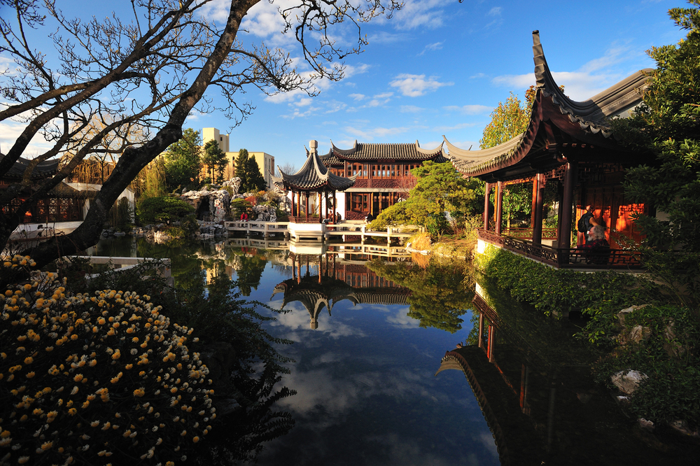 Portland Chinese Classical Garden.