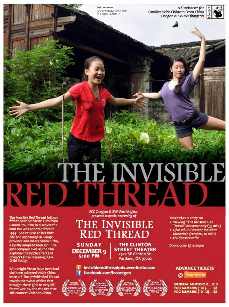 The Invisible Red Thread hosted by FCC Oregon and SW Washington